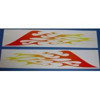 Αυτοκολλητα πλαινά φλόγες #2