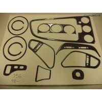 Επένδυση ταμπλό Look Carbon Alfa Romeo 156