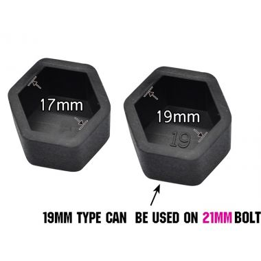 Wheel Tire Protect Bolt Cover Caps