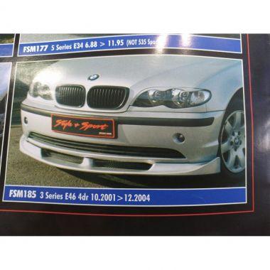 Εμπρος σποιλερ προφυλακτηρα τυπου DTM για BMW E 46 4D 2001-2004